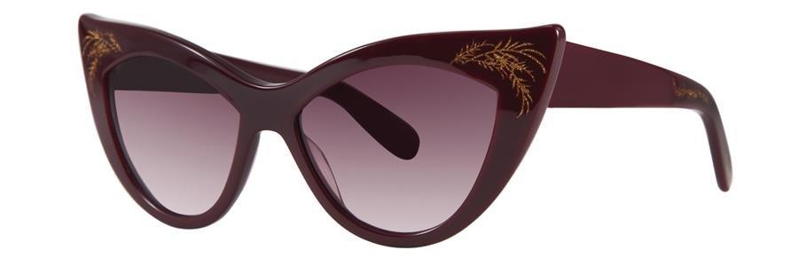 Zac Posen FIONA Wine Sunglasses Size54-15-135.00