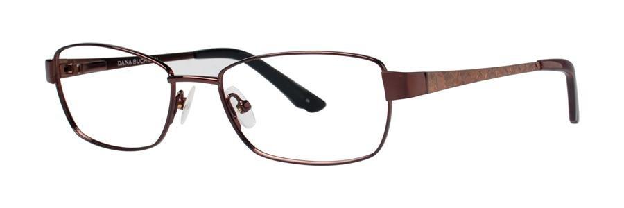Dana Buchman FIZA Brown Eyeglasses Size53-16-135.00