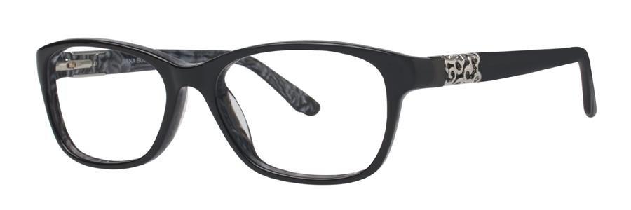 Dana Buchman FLORRIE Black Eyeglasses Size53-16-136.00