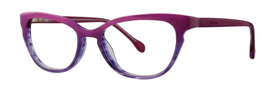 Lilly Pulitzer FORESYTHE Fuschia Fade Eyeglasses Size49-17-135.00