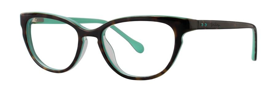 Lilly Pulitzer FORESYTHE Tort/Mint Eyeglasses Size51-17-135.00