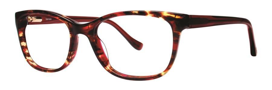 kensie FOXY Red Eyeglasses Size51-17-133.00