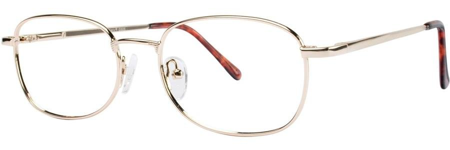 Gallery G505 Shiny Gold Eyeglasses Size49-18-135.00