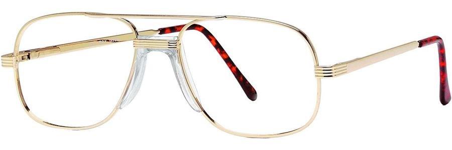 Gallery G506 Shiny Gold Eyeglasses Size53-17-140.00