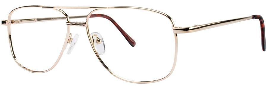 Gallery G507 Shiny Gold Eyeglasses Size54-15-140.00