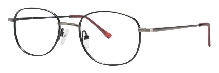 Gallery G521 Silv/Black Eyeglasses Size48-18-135.00