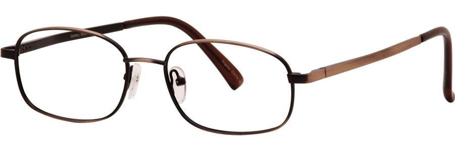 Gallery G550 Brown Eyeglasses Size53-18-145.00
