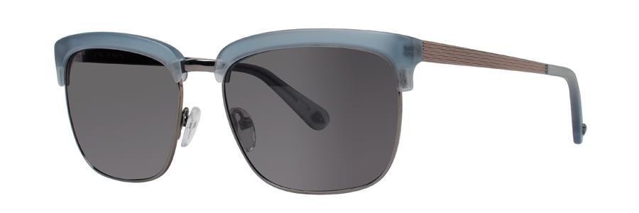 Zac Posen GABLE Matte Blue Sunglasses Size56-17-145.00