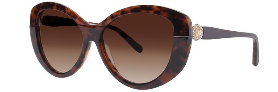 Vera Wang GALADRIEL Brown Sunglasses Size55-15-138.00