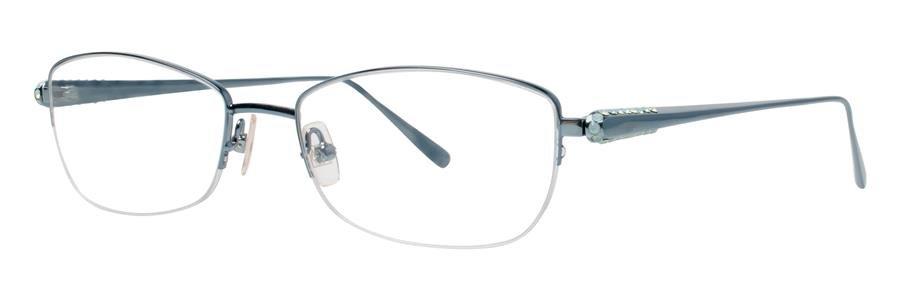 Vera Wang GALAXIA Teal Eyeglasses Size53-17-138.00