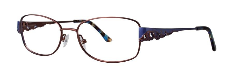 Dana Buchman GALE Brown Eyeglasses Size55-16-140.00