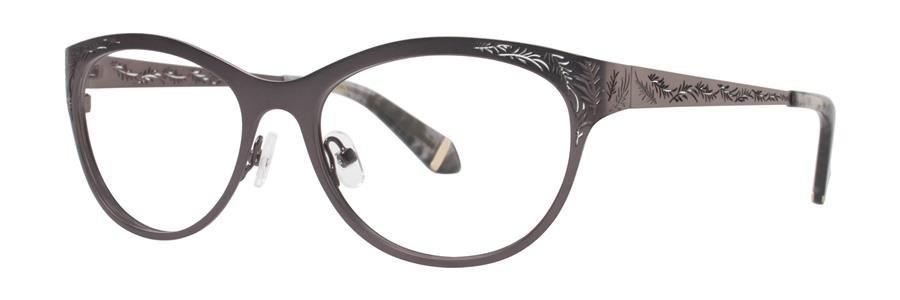 Zac Posen GAYLE Gunmetal Eyeglasses Size52-17-135.00