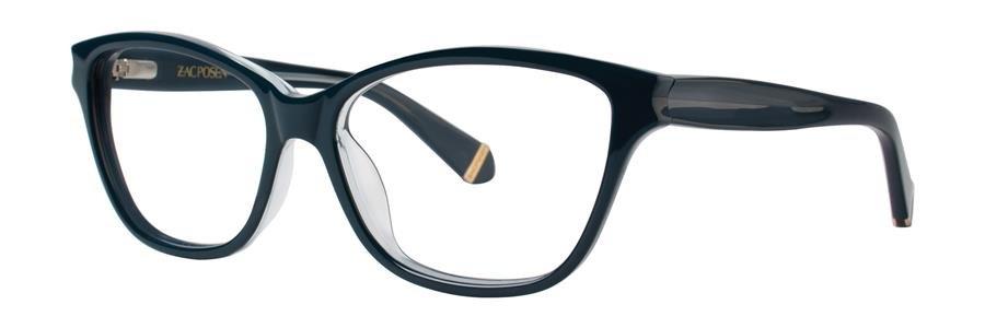 Zac Posen GELSEY Blue Eyeglasses Size53-15-130.00