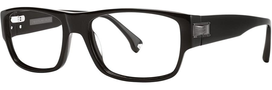 Republica GENEVA Black Eyeglasses Size54-18-143.00