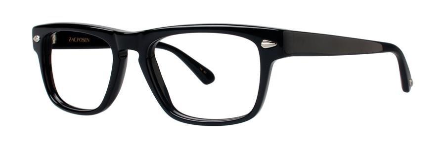 Zac Posen GENT Black Eyeglasses Size55-18-145.00