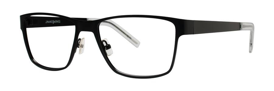 Jhane Barnes GIGABYTE Black Eyeglasses Size58-17-150.00