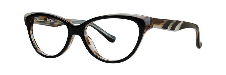 kensie GLEE Black Eyeglasses Size49-14-130.00