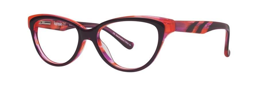 kensie GLEE Magenta Eyeglasses Size47-14-125.00