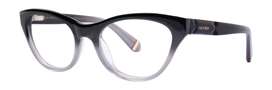 Zac Posen GLORIA Gray Eyeglasses Size49-18-130.00