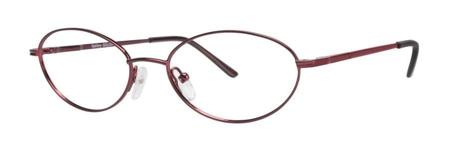 Gallery GOLDA Burgundy Eyeglasses Size52-16-135.00