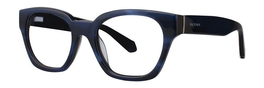 Zac Posen GUNILLA Blue Eyeglasses Size49-19-130.00