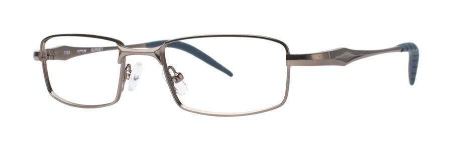 Timex GURNEY Gunmetal Eyeglasses Size48-17-135.00