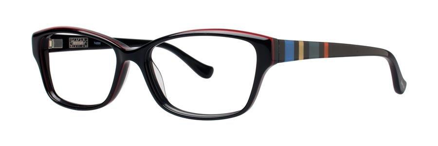 kensie HAPPY Black Eyeglasses Size52-14-135.00