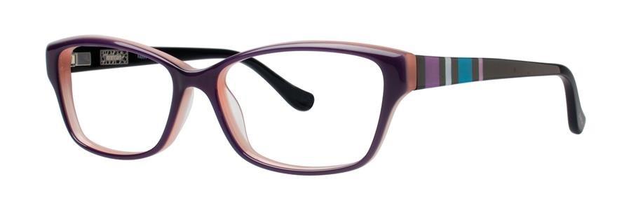 kensie HAPPY Purple Eyeglasses Size50-14-130.00