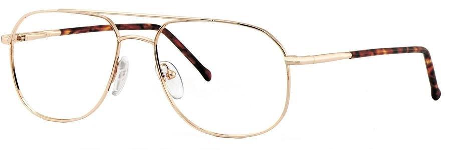 Comfort Flex HENRY FLEX Shiny Gold Eyeglasses Size52-18-135.00
