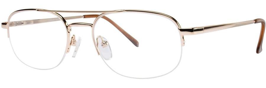 Gallery HERMAN Gold Eyeglasses Size55-19-145.00