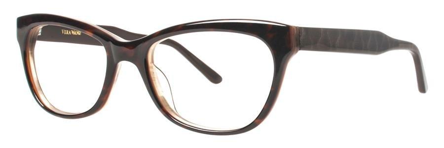 Vera Wang HERMINE Tortoise Eyeglasses Size49-17-135.00
