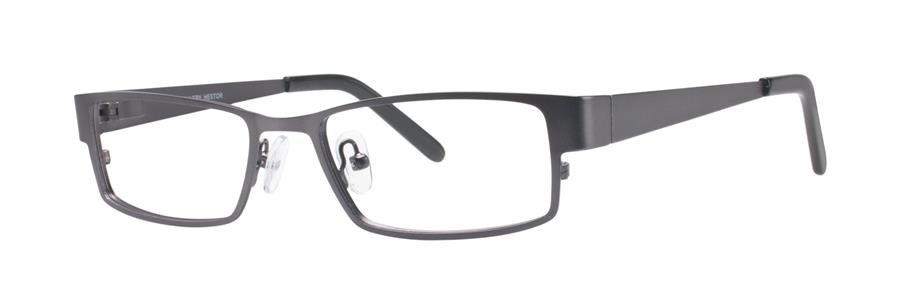 Gallery HESTOR Gunmetal Eyeglasses Size52-18-135.00