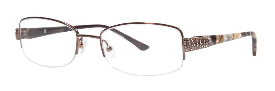 Dana Buchman HOLDEN Brown Eyeglasses Size50-18-132.00