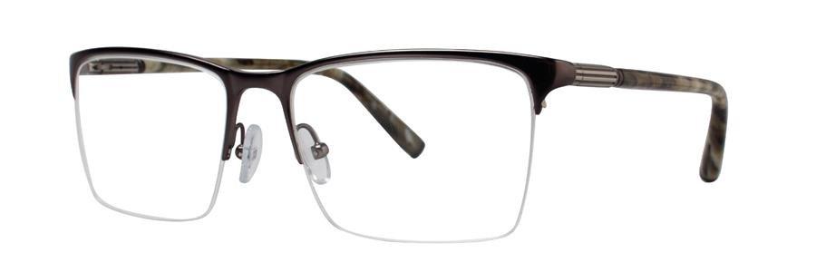 Zac Posen ICON Gunmetal Eyeglasses Size57-17-150.00