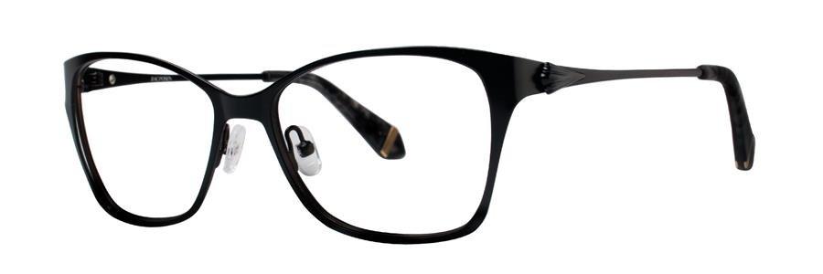 Zac Posen IDA Black Eyeglasses Size53-16-135.00