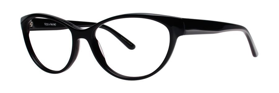 Vera Wang ILA Black Eyeglasses Size53-15-135.00