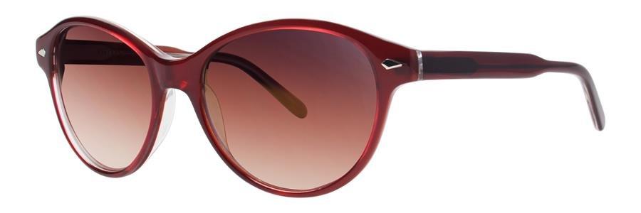 Vera Wang ILITA Burgundy Tortoise Sunglasses Size51-17-135.00