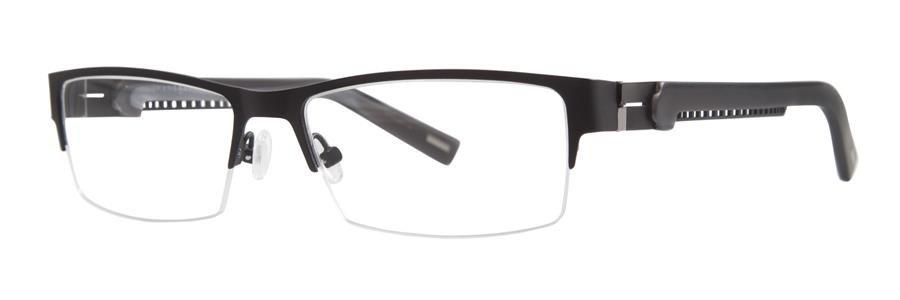 Jhane Barnes INDICATOR Black Eyeglasses Size56-16-138.00