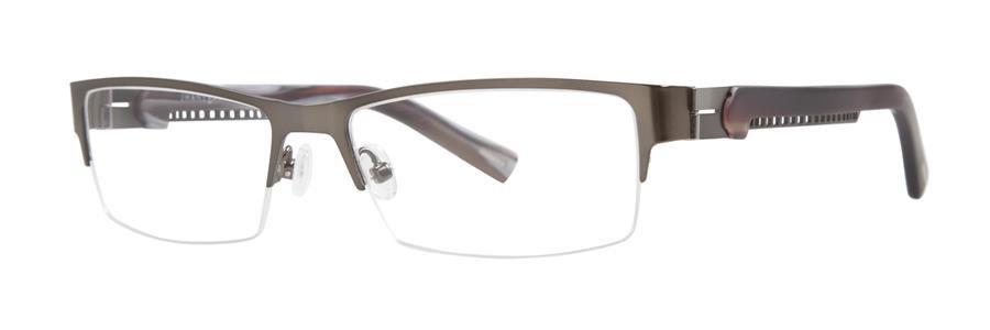 Jhane Barnes INDICATOR Gunmetal Eyeglasses Size56-16-138.00
