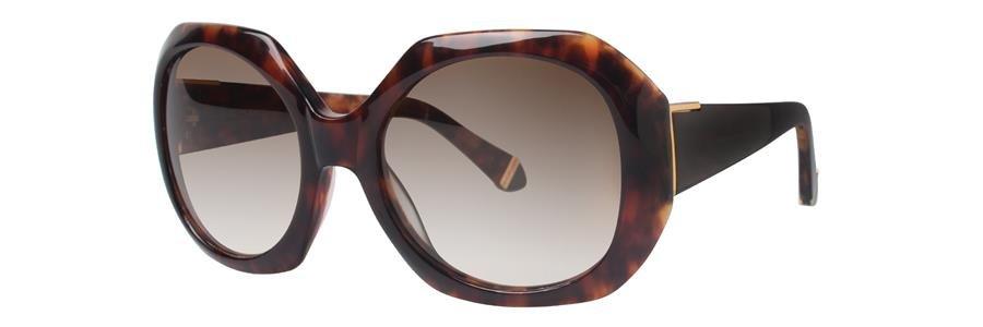 Zac Posen INGRID Brown Sunglasses Size54-19-135.00