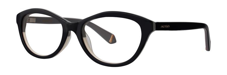 Zac Posen IRENE Black Eyeglasses Size52-17-135.00