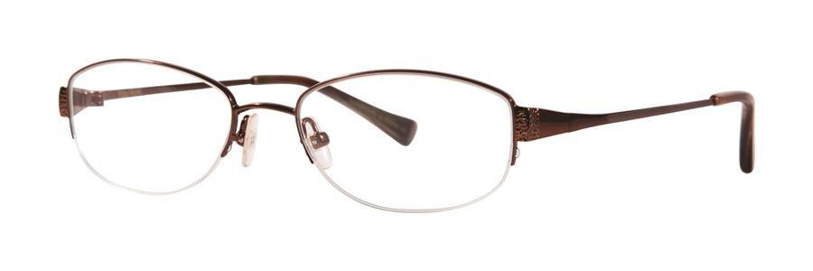 Vera Wang IRIDESCENCE Pecan Eyeglasses Size51-17-135.00