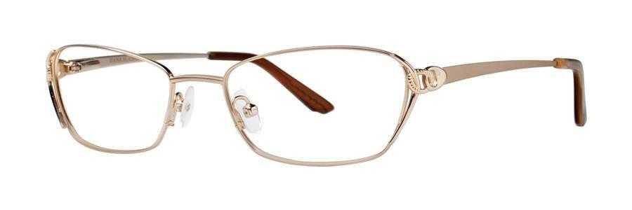 Dana Buchman ISHA Gold Eyeglasses Size50-17-133.00