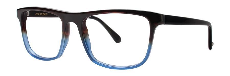 Zac Posen JACQUES Navy Eyeglasses Size54-18-145.00