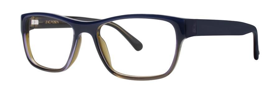 Zac Posen JARROD Blue Eyeglasses Size52-17-140.00