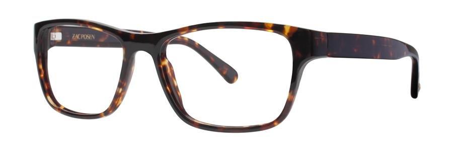 Zac Posen JARROD Tortoise Eyeglasses Size52-17-140.00