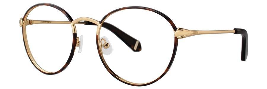Zac Posen JOAN JULIET Tortoise Eyeglasses Size52-20-135.00