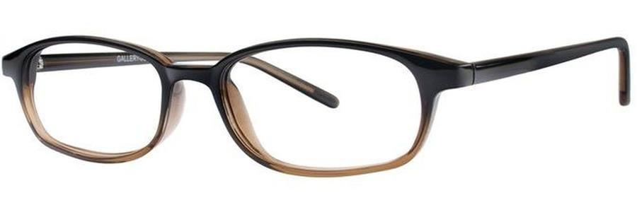 Gallery JOPLIN Black Fade Eyeglasses Size48-14-140.00