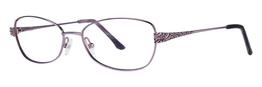 Dana Buchman JUSTINE Lilac Eyeglasses Size52-16-135.00