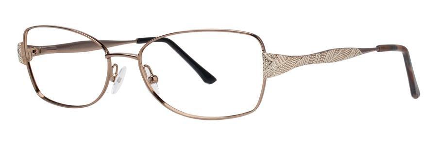 Dana Buchman KARENZA Brown Eyeglasses Size55-16-140.00